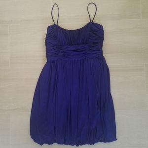 Silky Indigo Dress